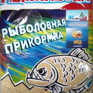 Прикормка  FishMaster  NEW !!! ЛЕТО  750г.  ТОЛСТОЛОБИК Мед